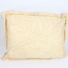 """Ralph Lauren Duck Feather Down Decorative Cotton Throw Pillow 15"""" x 20"""" G2642"""