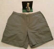 COLUMBIA MENS SZ.40 OLIVE GREEN CARGO FISHING/HIKING/UTILITY RUGGED SHORTS