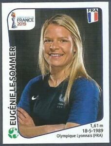 PANINI WOMENS WORLD CUP-FRANCE 2019- #037-FRANCE-EUGENIE LE SOMMER