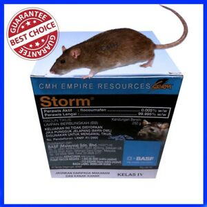 30 PCS MOUSE RODENTICID MICE RODENT RAT BAIT POISON BLOCKS PELLETS KILLER RID