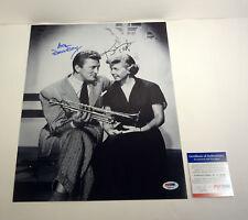 Kirk Douglas & Doris Day Legends Dual Signed Autograph 11x14 Photo PSA/DNA COA