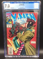 AMAZING X-MEN ISSUE 24 MARVEL COMIC BOOK CGC 7.0 WHITE PAGES ROGUE GAMBIT COVER