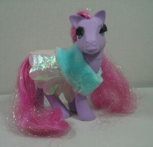 My Little Pony G1 Princess Royal Purple Eyelashes Original Cape Pink Mane/Tail