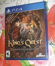 KINGS' QUEST THE COMPLETE COLLECTION PS4 - NEW - NO SEALED WRAP