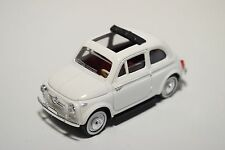 / / SOLIDO FIAT 500 OPEN WHITE NEAR MINT CONDITION