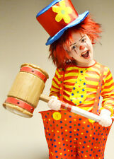 Halloween Scary Clown Style Prop Hammer Plastic Mallet