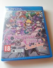Criminal Girls Invite Only PS Vita New Sealed UK PAL Sony PlayStation PSV anime