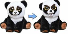 Feisty Pets Stuffed Animal Plush Toy Scary Cute Prank Black Bobby Panda Squeeze