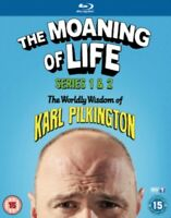 Nuovo The Moaning Of Life Serie 1 A 2 Blu-Ray