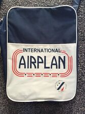 More details for international airplan retro style flight bag by pull & bear