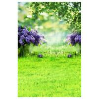 Photography Background Fabric Flower Grass Wall Photo Studio Props Backdrop #JT1