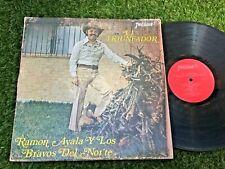RAMON AYALA Y LOS BRAVOS DEL NORTE El Trunfador LATIN NORTEÑO TEJANO TEX-MEX LP