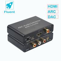 arc audio extractor DAC converter Optical Fiber 192KHz HDMI Audio Adapter