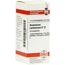 AMMONIUM CARBONICUM D 12 Globuli 10 g PZN 4203059