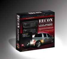 Recon SMOKED Ford Superduty 11-18 & Dually Fender Lights # 264136BK