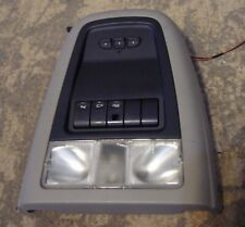 2006 pontiac montana overhead roof console map lights door switch controls  etc