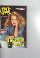 1992 02 18 - TELE SETTE - N.7 - 18 02 1992 - ANNO XIV - AGNESE NANO