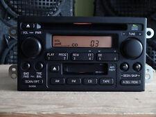 Honda CR-V 2002 2003 2004 CD Cassette player 2XN1 Amber display TESTED