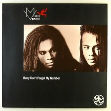 """12"""" Maxi - Milli Vanilli - Baby Don't Forget My Number - #C2467"""