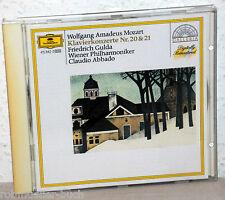 CD MOZART - Klavierkonzerte Nr.20 & 21 - Friedrich Gulda