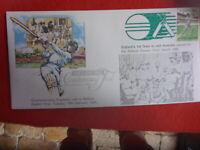 1985 OVERPRINTED BALLARAT CRICKET COVER ENGLAND TEAM VISIT TO EASTERN OVAL 1962