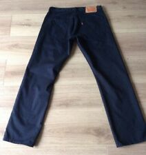 LEVI'S 514 JEANS SIZE 32 X 30 DARK BLUE DOT MARK SEE DESCRIPTION