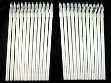 """Eye Liner Pencil White Color 24 Eyeliners Lot 7.5"""" Long PX Look Brand"""