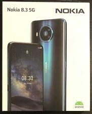 Nokia 8.3 Dual-SIM 128GB 5G Smartphone - Unlocked - Polar Night - NEW & SEALED!