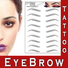 Eyebrows Tattoo Real Look Sticker False Eyebrow Waterproof Stick On Makeup