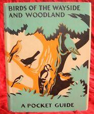 T.A. COWARD & ENID BLYTON - BIRDS OF THE WAYSIDE AND WOODLAND - 1/1 - 1936 & D/J
