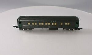 American Flyer 652 Vintage S Olive Green Heavyweight Pullman Car