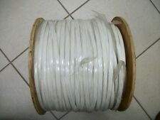 INSULATION TUBING PVC 105  White  3/8 800ft