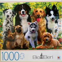 1000 Piece Jigsaw Puzzle - Dogs-  NEW - UNOPENED Attention Dog Lovers!!!!!