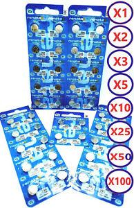 Renata 317 SR516SW Watch Battery Pack X1 , X2 , X3 , X5 , X10 , X50 , X100, X200