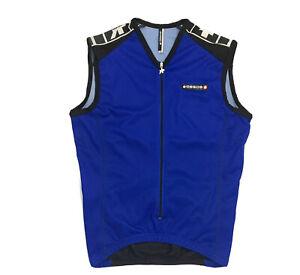 Assos Jersey Switzerland Cycling Body R&D Textile Sleeveless Size Small Unisex