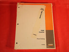Case 750K Crawler Parts Catalog Manual - In Factory Plastic - 7-7620NA