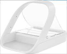 New listing Microchip/Automatic Small Dog & Cat Feeder in White Freeship