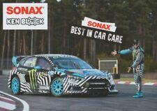 2016 Ken Block Sonax Ford Fiesta SEMA Show Promo FIA World Rallycross postcard
