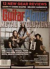 Guitar Player Jan2018 Metal Evolution Rich Ward Ryan Patrick  FREE SHIPPING mc