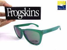 Oakley Frogskins 9013 C655 Green Prizm Jade Iridium C655 Spectrum Sunglasses