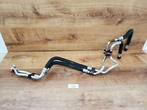 ✅ 10-18 OEM BMW F10 F06 F12 F13 F01 Engine N63 Oil Cooler Pipe Line Inlet Outlet