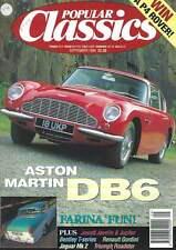 Popular Classics Aston Martin DB6 BMC Farina Renault Gordini
