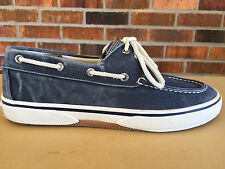 Sperry Top-Sider Halyard Men's Boat Shoes Size 8 W Blue/ White 0777914     G34(5
