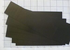 CFK Platte Kohlefaser Carbon Platten Länge 201mm bis 300mm