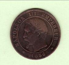 NAPOLEON III 2 CENTIMES 1856 TTB ++