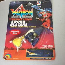 1984# LJN VINTAGE VOLTRON LION FORCE SWORD BLAZERS PRINCE LOTAR#MOSC CARDED Rare