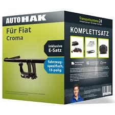 Anhängerkupplung abnehmbar für FIAT Croma +E-Satz AHK