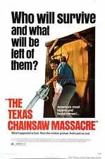 Texas Chainsaw Massacre 1 Poster 01 A3 Box Canvas Print