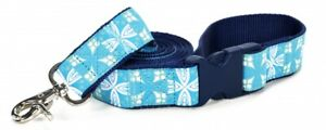 Douglas Paquette BEACH GLASS Nylon & Ribbon Dog Pet LEADS
