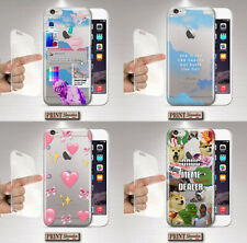 Cover For ,Xiaomi,Vaporwave,Silicone,Soft,Clear,Emoji,Meme,Clouds,Hearts